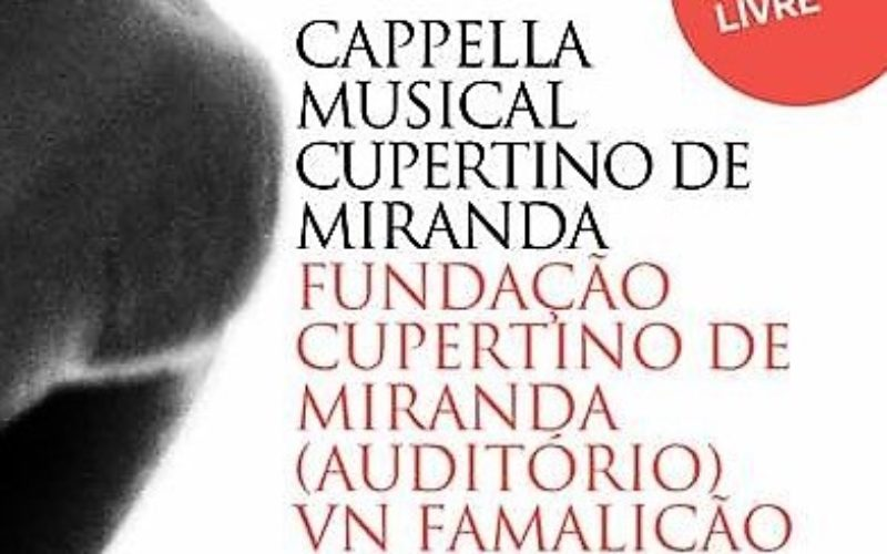14/10 – Capella Cupertino de Miranda canta na FCM