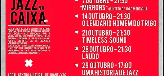 7 a 29/10 – Jazz na Caixa, 1ª edição