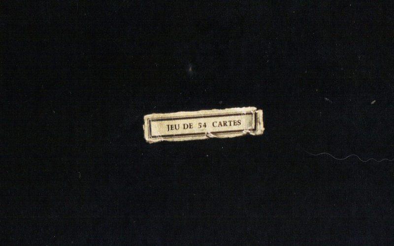 27/10 a 21/01/2018 | Jorge Molder – Jeu de 54 Cartes no Museu de Escultura de Santo Tirso
