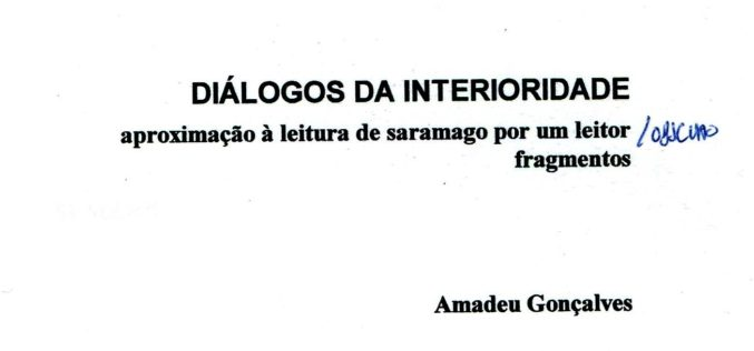 Mundos de Saramago | Diálogos da Interioridade, Uma crónica de memória sem ser de memória (Pt. 1)