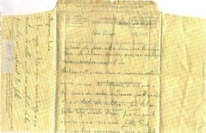 Vila Nova - José Manuel Lages: Vivências na Guerra Colonial - Acorrespondência na época de Natal (aerograma) novo 2-2