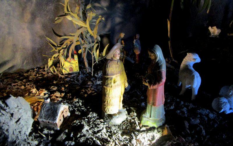 Presépio em Nine: em nome de quem vê a neve preta