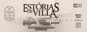 Vila Nova - Famalicão Online - Entrevista a João Pedro Castro, por Pedro Costa - flyer da Festa Estórias de Viila 20012018