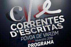 20  a 24/2 | Correntes d' Escritas. Maré de autores e leitores atinge a Póvoa de Varzim