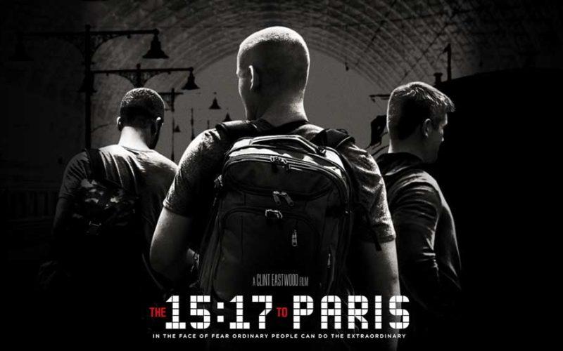Observatório de Cinema   15:17 Destino Paris. Tiro ao Lado, Sr. Eastwood