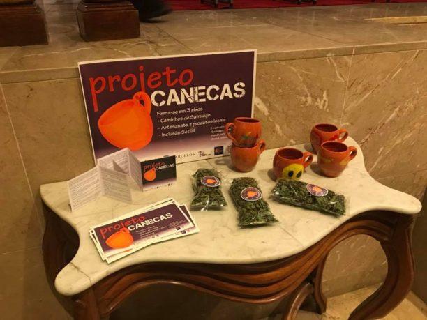 Vila Nova Online   Inclusão social - Projeto Canecas