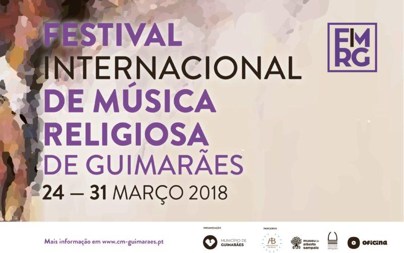 23/3 a 31/3 | Festival de Música Religiosa de Guimarães 2018