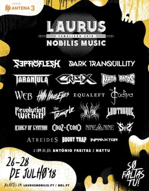 Vila Nova Online | Laurus Nobilis Music Fest 2018 - cartaz