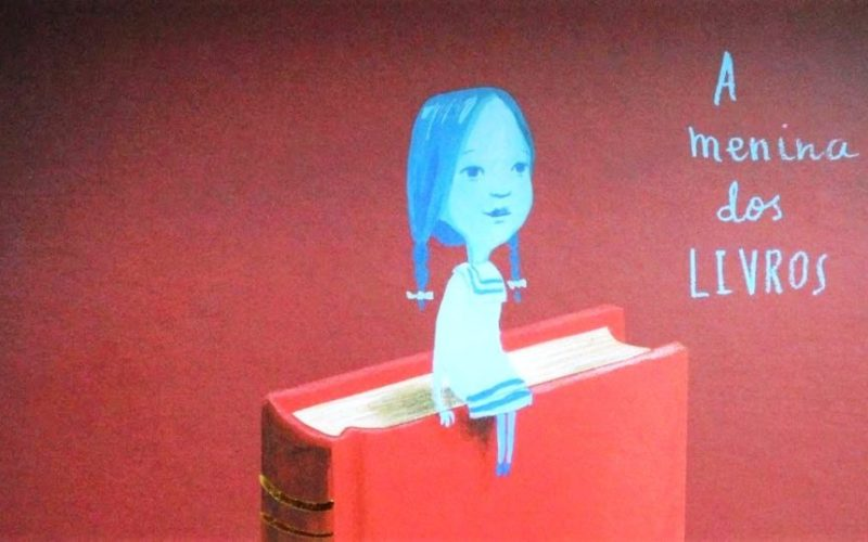 Fábrica de Histórias | Um livro… #04: 'A Menina dos Livros' de Sam Winston e Oliver Jeffers