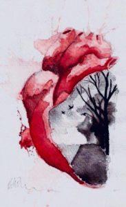 VN Online | Miguel Alves Duarte, ilustração para Batem leve, lemente, de Inês Grenha, maio de 2018