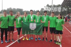 Atletismo | Ouro, Prata e Bronze para CCD Ribeirão no Nacional de Juvenis. Pedro Matos em grande destaque