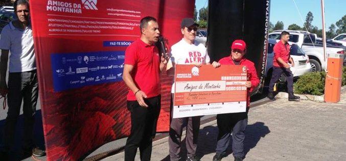 Solidariedade | Amigos da Montanha entregam 3000,00 euros aos Bombeiros Voluntários de Barcelinhos