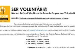 Ser Voluntário | Refood Famalicão realiza campanha de angariação de voluntários