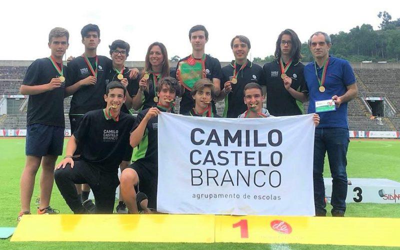 Atletismo | AECCB, Campeão Nacional de Iniciados em Atletismo