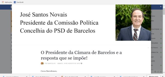 Truca-truca | José Novais e PSD: 'Nós não somos o seguro de risco do Presidente! Somos a alternativa'