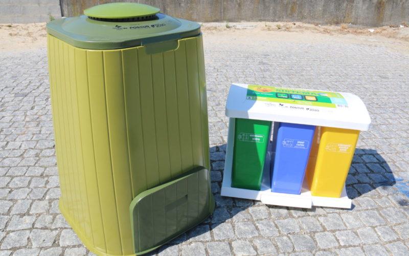 Reciclar | Município de Barcelos distribui compostores e ecopontos domésticos grátis