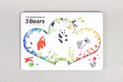 Fábrica de Histórias | Um livro… #09: 'The Adventures of 3 Bears' de Claudio Ripol  e Yeonju Yang