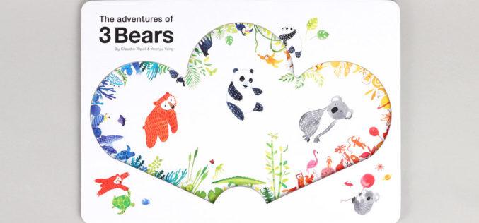 Fábrica de Histórias | Um livro por semana… Por Clara Haddad #09 The Adventures of 3 Bears