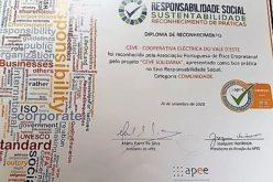 Boas Práticas | CEVE recebe galardão de ética empresarial pela atividade comunitária