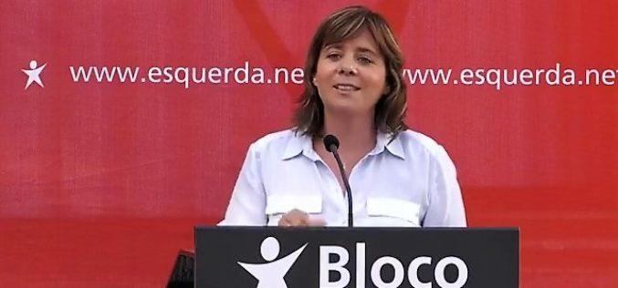 Bloco de Esquerda | Catarina Martins: Devolvemos os cortes, está na hora de devolver o futuro