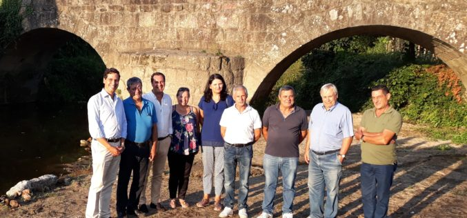 PS em Ação | Rio Este, Cavalões e Outiz foram alvo de visita de trabalho dos socialistas famalicenses