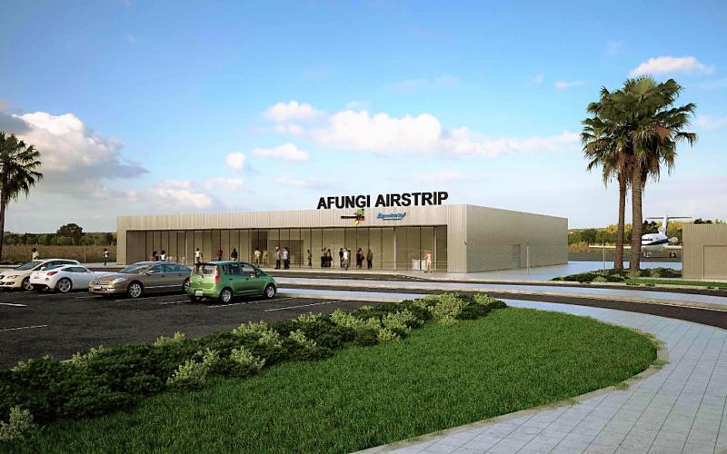 Infraestruturas | Gabriel Couto constrói aeródromo em Moçambique