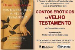 Livros | 'Novos' Contos Eróticos do Velho Testamento, de Deana Barroqueiro, relançado pela editora Planeta
