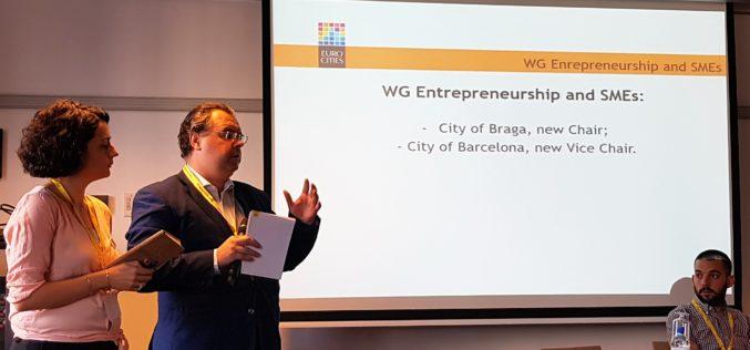 Eurocities | Braga coordena grupo de trabalho sobre Empreendedorismo e PME`s