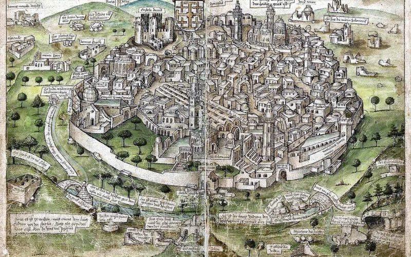 História Contrafactual   As Cruzadas em Jerusalém