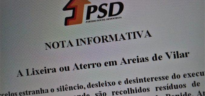 Ambiente | José Novais: PSD estranha silêncio do Executivo sobre a lixeira de Areias de Vilar