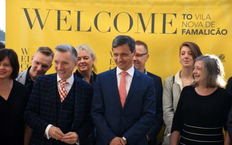 Famalicão Global   Famalicão pisca o olho ao mundo com o Manifesto VNF Alliance com Liverpool e Arteixo
