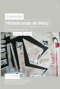 Hildebrando de Melo cartaz exposição Famalicão