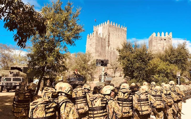 Fibrenamics | Inovadores equipamentos militares do projeto AuxDefense prontos a usar em teatro de operações