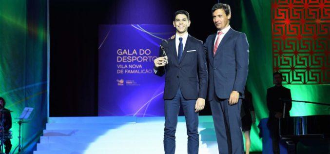 Galas | Quim distinguido com Prémio de Excelência 2018 na III Gala do Desporto de Vila Nova de Famalicão