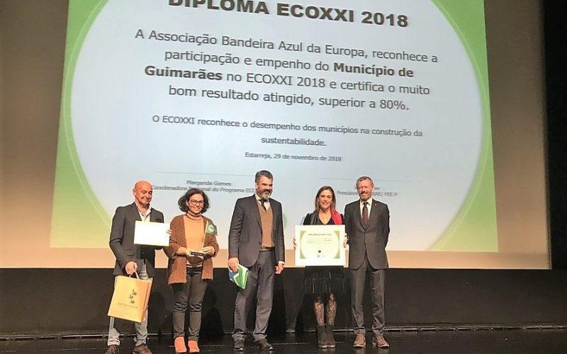 Ambiente | Guimarães eleito município mais sustentável pelo segundo ano consecutivo