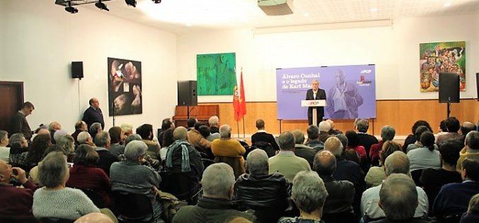 Homenagem | Jerónimo de Sousa evoca Álvaro Cunhal e invoca Karl Marx