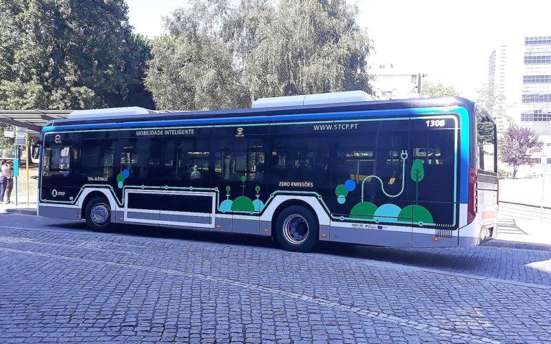 Mobilidade   300 autocarros elétricos vão circular na rede de transportes públicos da Área Metropolitana do Porto