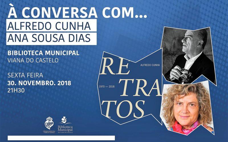 Livros | 'À Conversa com…' Alfredo Cunha e Ana Sousa Dias apresenta 'Retratos', 48 anos da vida de um país