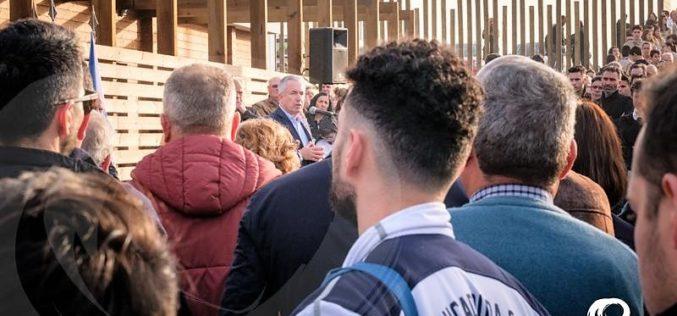 Aguçadoura | Aires Pereira (no batismo da remodelação do Campo de Futebol): O mais importante são as pessoas