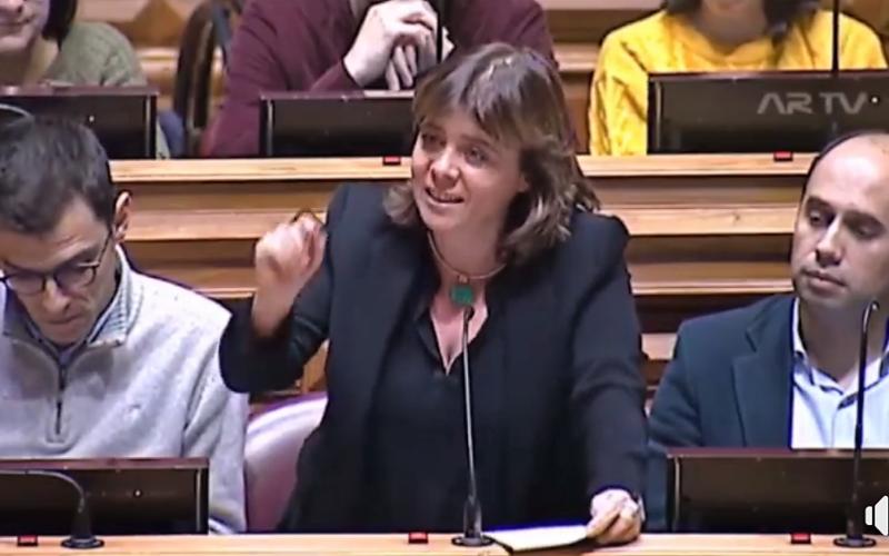 Bloco   Catarina Martins: Cabe ao Governo resolver problemas, em vez de os adiar