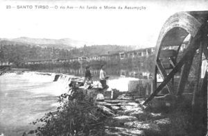 Azenhas III: Azenha do Mosteiro de S. Bento, Santo Tirso; Data: C. início do séc. XX.