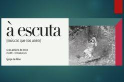 Concerto | À escuta: um sarau musical e cultural em Nine