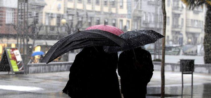 Mau Tempo | Precipitação moderada a forte e vento forte em Braga