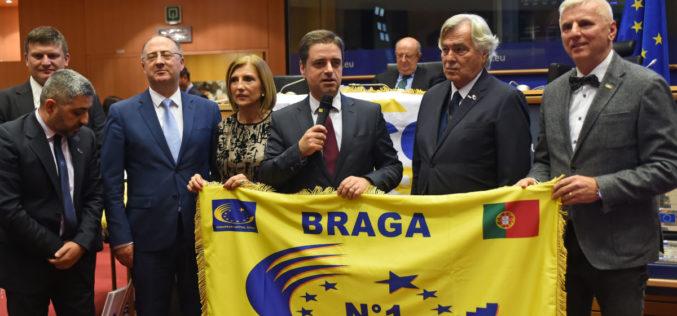 Títulos | Ricardo Rio: Cidade Europeia do Desporto 2018 deixa legado inestimável para o futuro dos bracarenses