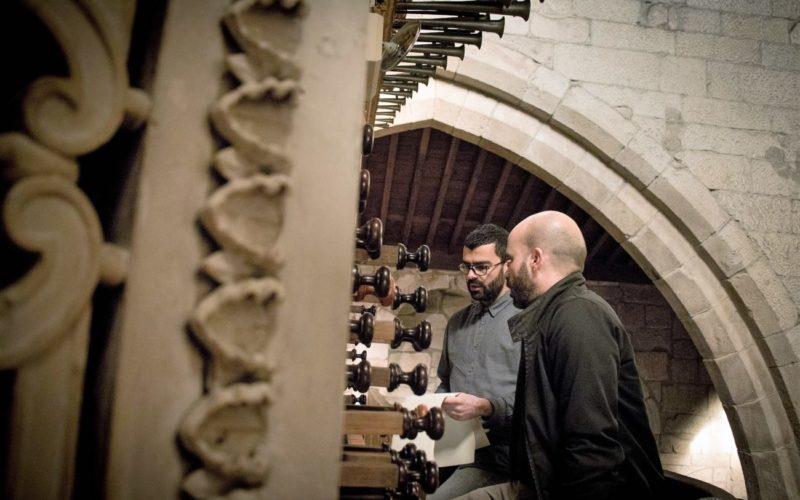 Ouvir | 'Música Mágica' no órgão ibérico da Nossa Senhora da Oliveira