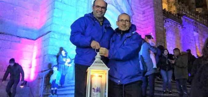 Natal | Escuteiros do Núcleo de Guimarães acolhem a Luz da Paz de Belém