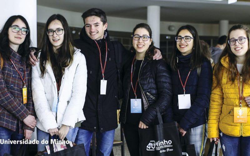 Ensino | Melhores estudantes das secundárias da região Norte trabalham com professores e cientistas da UMinho