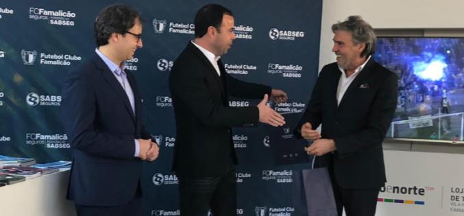 Futebol | FC Famalicão Seguros Powered by SABSEG é nova marca do clube