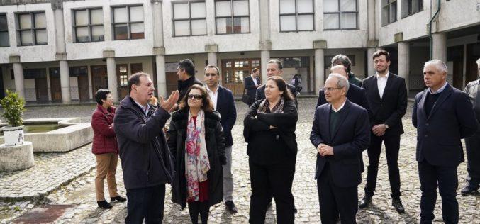 Ensino | Nova escola de Caldas das Taipas é uma referência para o país