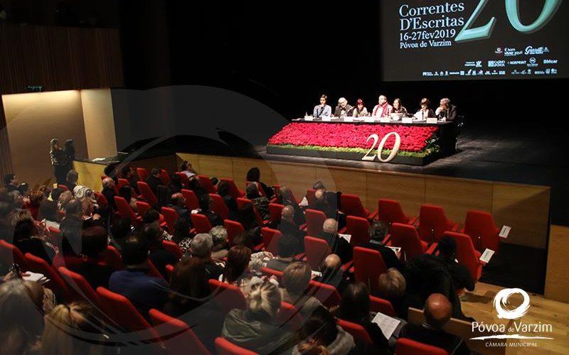 Escrita | 'A palavra é sagrada?' encerra debates do Correntes d'Escritas 2019